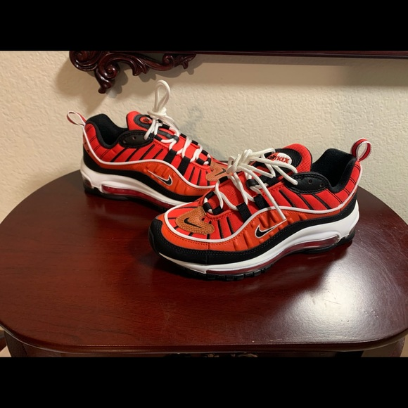 Nike Shoes | Air Max 98 Habanero Red